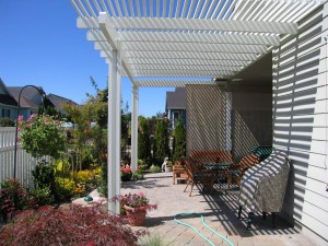 patio outdoor room shade trellis arbor