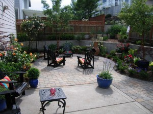 patio paver addition