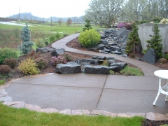 concrete patio stone